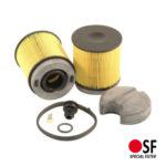 SFK4759 AdBlue szűrő megfelel:U6202YKIT Mann&Hummel,81154036089 MAN, 1815766, 1819795 DAF, PE5270 Baldwin, SD70313 HIFI Filter